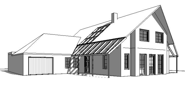 ontwerp vrijstaande villa
