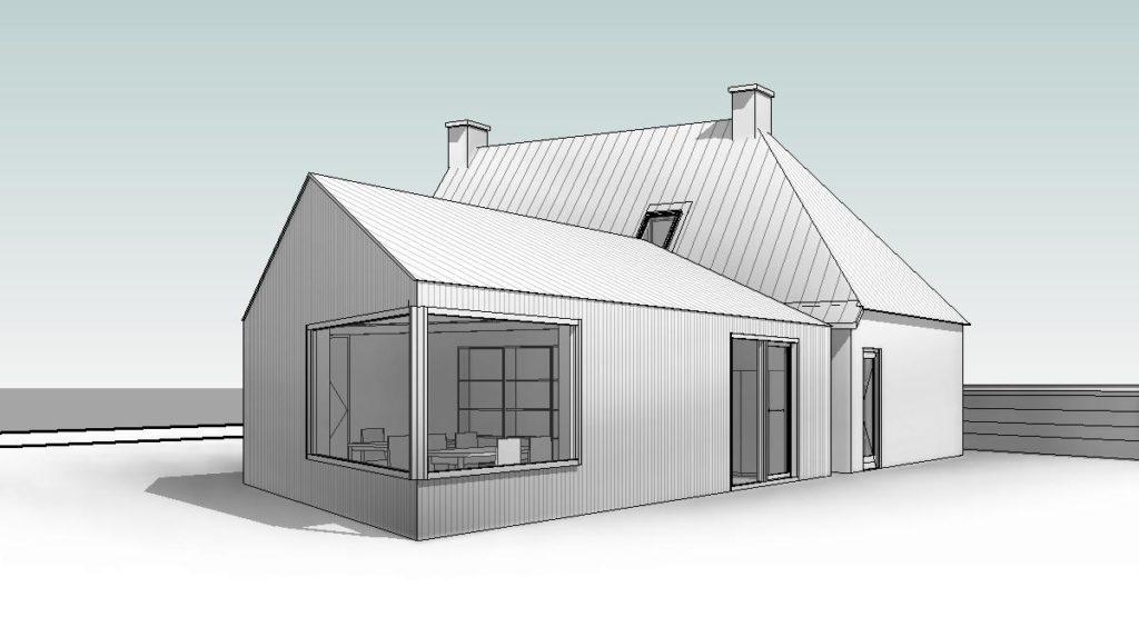 ontwerp uitbreiding woning tot levensloop bestendige woning