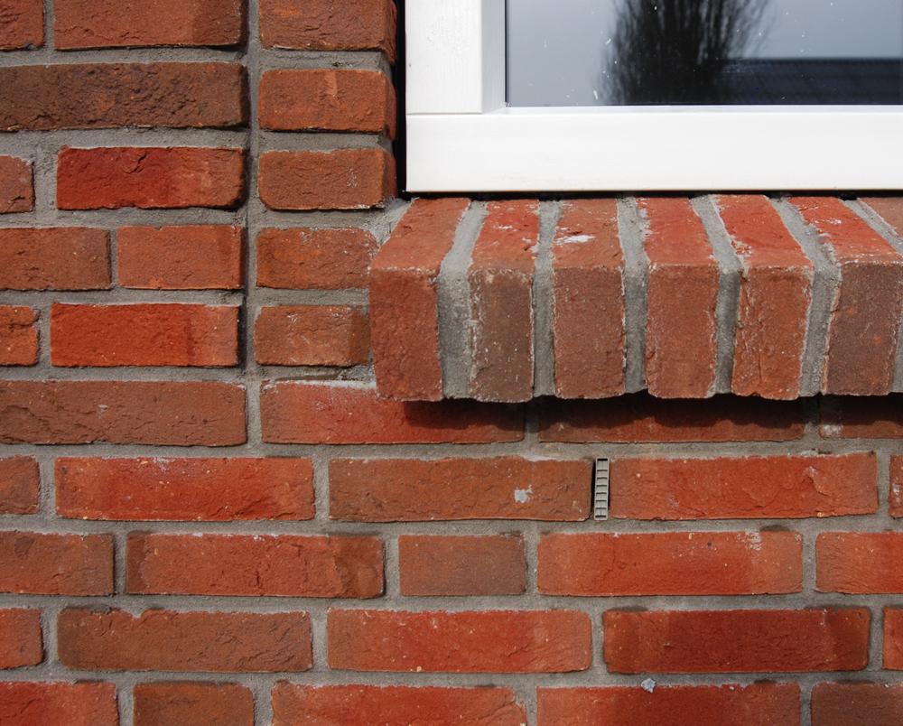 detail raamkozijn vrijstaande woning