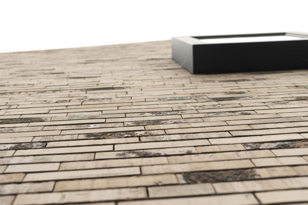vrijstaande woning in baksteen - detail baksteen